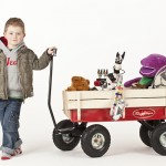 Toby All Terrain Pull Along Wagon Cart